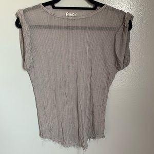 Distressed Free people T-shirt